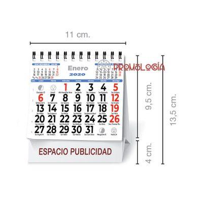 Calendario sobremesa publicidad