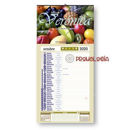 Calendario pared lechera