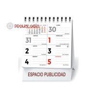 Calendario publicitario semanal