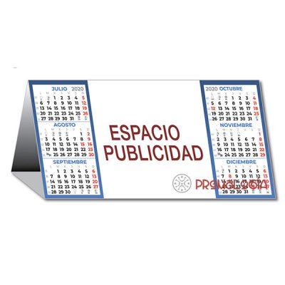 Calendario semestral neutro