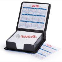 Portanotas calendario