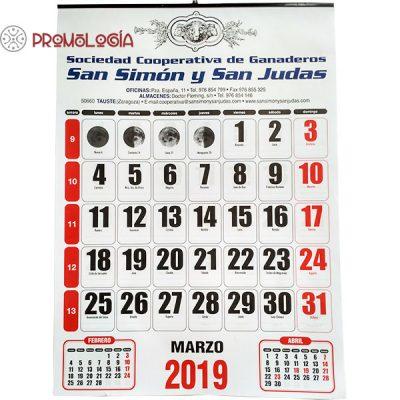 Calendario de pared gigante