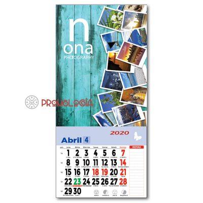 Calendario con imán faldilla notas
