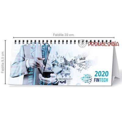 Calendario publicitario personalizable