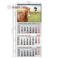 Calendario 3 meses vista